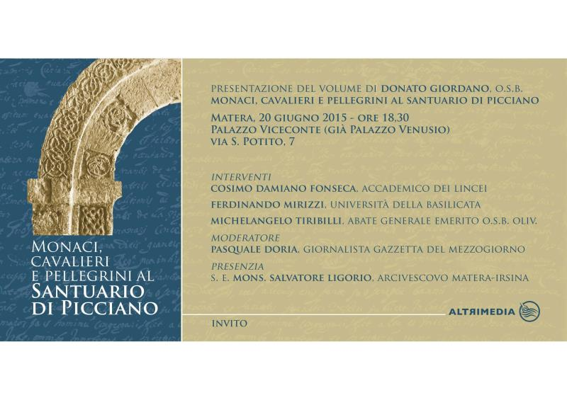 Monaci, cavalieri e pellegrini al Santuario di Picciano - 20 Giugno 2015