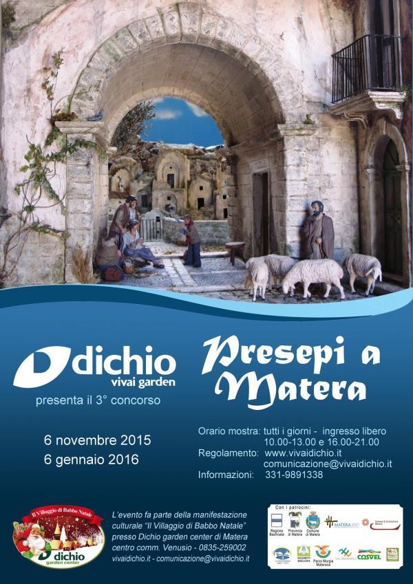 Presepi a Matera III edizione
