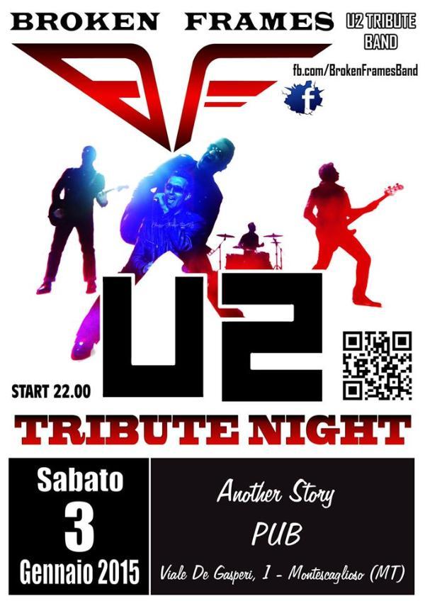 U2 Tribute Night Live - 3 Gennaio 2015