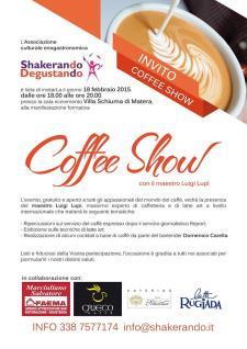 1° Coffee Show - 18 Febbraio 2015 - Matera