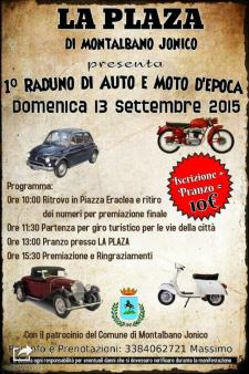 1° Raduno di auto e moto d'epoca - 13 Settembre 2015 - Matera