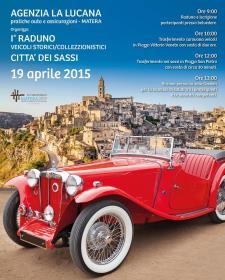 1° Raduno veicoli storici città dei Sassi - 19 Aprile 2015 - Matera