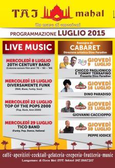 20th Century band Chicco Paglionico e Tommy Terrafino  - Matera