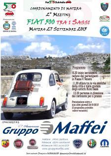 2° Meeting Fiat 500  - 27 Settembre 2015 - Matera