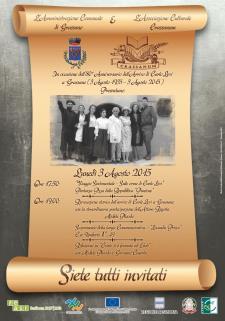 80° anniversario dell'arrivo di Levi  - Matera