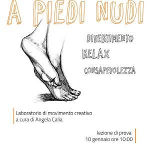 A piedi nudi_laboratorio di movimento creativo - 10 Gennaio 2016 - Matera