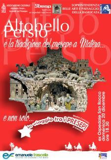 Altobello Persio e la tradizione dei presepi a Matera - Matera