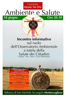 Ambiente e Salute - 18 Giugno 2015 - Matera
