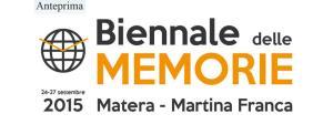 Anteprima della Biennale delle Memorie - Matera