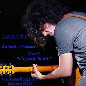 Antonello Fiamma in concerto - 24 Luglio 2015 - Matera