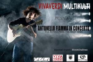 """Antonello Fiamma in concerto : """"The Round Path - un anno dopo"""" - 27 Dicembre 2015 - Matera"""