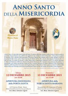 Apertura diocesana Porta Santa  - Matera