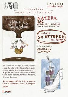 Appunti di Geofantastica di Gianluca Caporaso - Matera