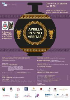 APRILLA..IN VINO VERITAS - Matera