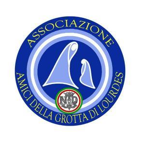 """Associazione """"Amici della Grotta di Lourdes"""" (logo)  - Matera"""