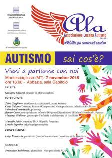 Autismo: sai cos'è? Vieni a parlarne con noi - 7 Novembre 2015 - Matera
