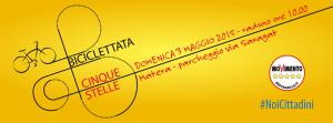 Biciclettata M5s - 3 Maggio 2015 - Matera