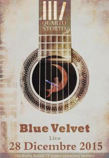 Blue Velvet live - Matera