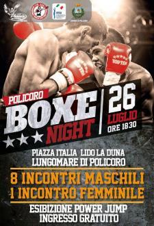 Boxe Night - 26 Luglio 2015 - Matera