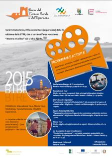 BTRE - Borsa del turismo rurale e dell'esperienza - 17 Aprile 2015 - Matera