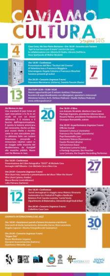 Calendario di Caviamo Cultura 2015 - Matera