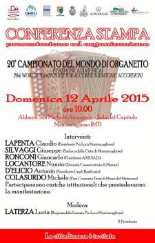 Campionato Mondiale di organetto - Matera