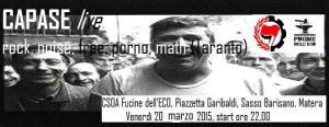 CAPASE - Live - Matera