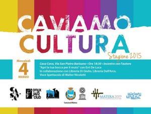 Caviamo Cultura 2015  - Matera