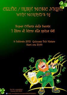 Celtic/Irish music night con Murphy's dj  - Matera