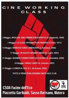 Cine working class - Matera