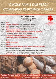Cinque pani e due pesci - 26 Settembre 2015 - Matera
