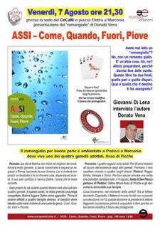 Come, Quando, Fuori, Piove di Donato Vena - 8 Agosto 2015 - Matera