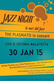 Concerti d'Osteria: Plasmati's in concert  - Matera