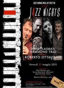 Concerti d'osteria:Roberto Ottaviano & Hammond Trio - 22 Maggio 2015 - Matera