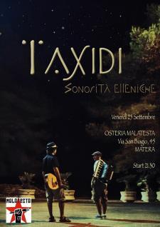Concerti d'Osteria: Taxìdi Trio - 25 Settembre 2015 - Matera