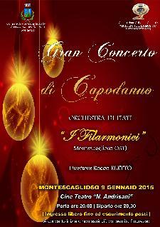 """Concerto di Capodanno - Orchestra di Fiati """"I FILARMONICI"""" - Matera"""