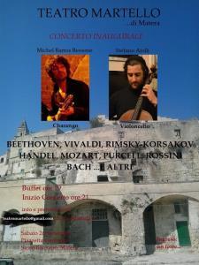Concerto Inaugurale - 26 Settembre 2015 - Matera