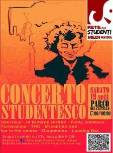 Concerto Studentesco - 19 Settembre 2015 - Matera