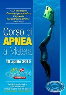 CORSO DI APNEA I° LIV. (Apnea Academy)  - Matera