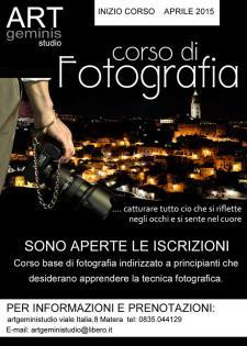 Corso di Fotografia  - Matera