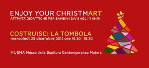 Costruisci la tombola. Enjoy your ChristmART! - Matera
