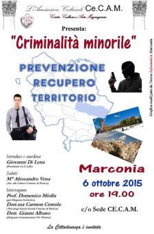 criminalità minorile - 6 Ottobre 2015 - Matera