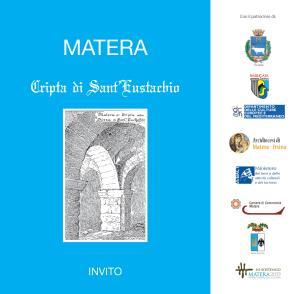 Cripta di Sant'Eustachio De Posterga - Matera