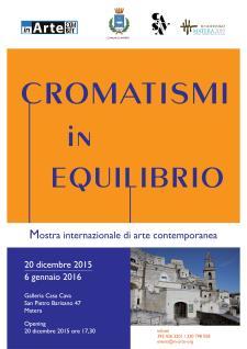 Cromatismi in equilibrio - Matera