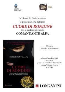 Cuore di rondine - 17 Ottobre 2015 - Matera