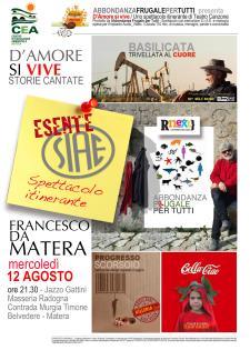 D'Amore si Vive - 12 Agosto 2015 - Matera