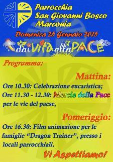 Dai Vita alla pace - 25 Gennaio 2015 - Matera