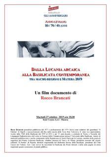 Dalla Lucania arcaica alla Basilicata contemporanea - Matera