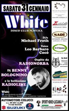 Dj Benny Bolognino al White Disco  - Matera