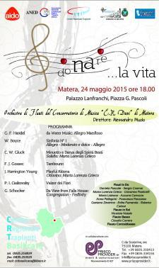 Donare la Vita - 24 Maggio 2015 - Matera